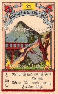 Der Berg im Steinbock Monatshoroskop an diesem Tag