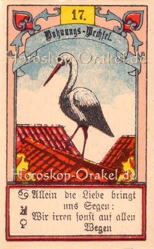 Der Storch im Steinbock Tageshoroskop heute