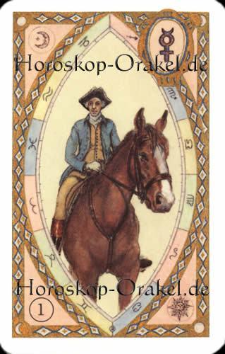 Der Reiter, Steinbock Monatshoroskop