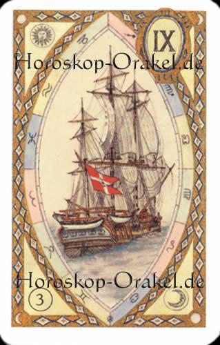 Das Schiff, Steinbock Monatshoroskop