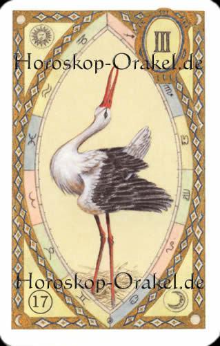 Der Storch, Steinbock Tageshoroskop Liebe für heute