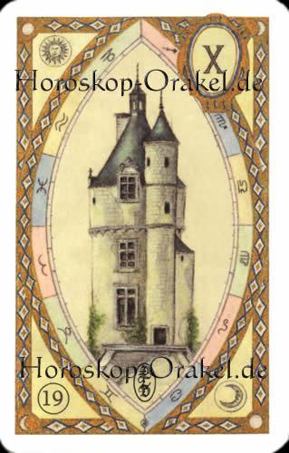 Der Turm, Steinbock Monatshoroskop