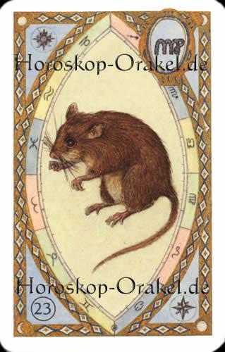 Die Mäuse, Steinbock Monatshoroskop