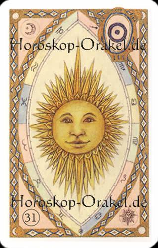 Die Sonne, Steinbock Monatshoroskop