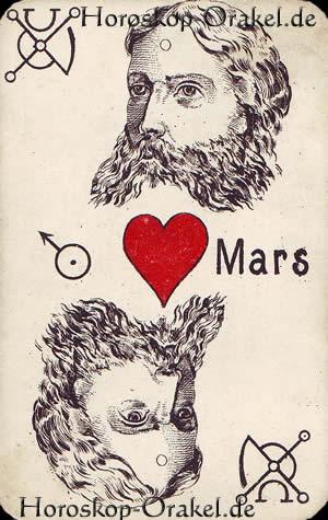 Der Mars, Steinbock Tageshoroskop Arbeit und Finanzen für übermorgen