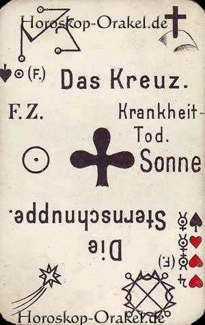 Das Kreuz, Steinbock Monatshoroskop Arbeit und Finanzen